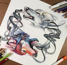 da3845eef0841 106 Best Katy Lipscomb - Artist images in 2017 | Animal drawings ...