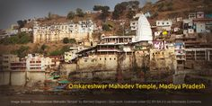 Dedicated to Lord Shiva, the Omkareshwar Mahadev Temple on Mandhata Island in the Narmada River is one of the twelve shrines dedicated to the Jyotirlinga. The shrine consists of two temples - Amareshwar representing the Lord of the Immortals and Omkareshwar representing the Lord of Omkara or Om sound. The Jyotirlinga shrines worship Lord Shiva's incarnation as a column of light. #TempleTrivia