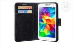 Skórzany pokrowiec idealnie dopasowany do Samsung Galaxy S5