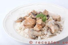 Kycklinggryta Thai - Recept