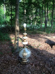 Gilded Genie Lamp on Etsy, $50.00