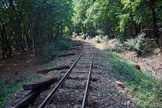 keskenyvágányú vasút... Railroad Tracks, Train Tracks