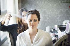 SANDRA + IVÁN >> Recogido griego de novia con trenzas, Eva Pellejero; vestido de Rosa Clará; fotógrafo Rubén Fuertes