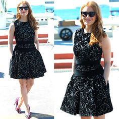 Jessica Chastain at the photo call for 'The Disappearance of Eleanor Rigby' held during the 2014 Cannes Film Festival in Cannes, France, on May 18, 2014