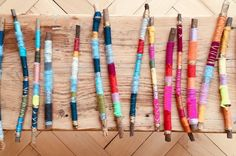 Make magic wands yourself - DIY Diy For Kids, Crafts For Kids, Arts And Crafts, Diy Crafts, Android Girl, Diy Upcycling, Upcycle, Diy Kids Furniture, Textiles