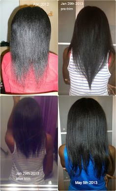 Hair Story Feature: Meet Joanne Your hair is?… Relaxed (this includes texlaxed) When and why did you Relaxed Hair Growth, Long Relaxed Hair, Relaxed Hair Journey, Healthy Relaxed Hair, Healthy Hair Tips, Hair Growth Tips, Relaxed Hair Regimen, Permed Hairstyles, Pretty Hairstyles