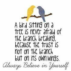 Always believe in yourself! http://www.chloeandisabel.com/boutique/carlyeacker