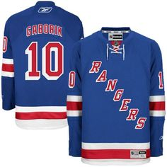 NHL New York Rangers Marian Gaborik Jersey - $150.00 - http://shop.sportsfanplayground.com/4738-374377011-B0044JXM62-Reebok_New_York_Rangers_Marian_Gaborik_Premier_Home_Jersey.html