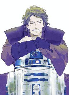 Anakin & R2