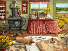 Horneando galletas - Janet Kruskamp