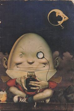 Humpty Dumpty by Charles White III, 1977