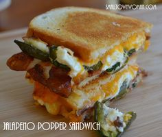 Jalapeno Popper Grilled Cheese -  Small_Town_Woman