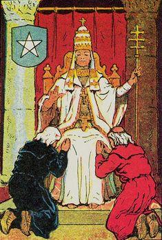 Knapp-Hall Tarot ► The Hierophant