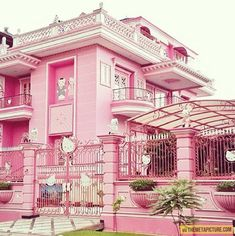Hello Kitty house… @Abigail Zeimis we were talking about this sort of thing!!