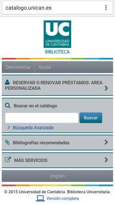 Universidad de Cantabria University, Universe