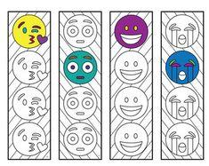Emoji 3 Bookmarks – PDF Zentangle Coloring Page – Scribble & Stitch coloriage halloween à imprimer Zentangle, Emoji Coloring Pages, Colouring Pages, Dinosaur Design, Cute Dinosaur, Emoji Bookmarks, Printable Bookmarks, Heart Bookmark, Emoji Design