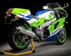 Kawasaki Ninja 750, Cafe Racing, Kawasaki Motorcycles, Old Bikes, Super Bikes, Vehicles, Badger, Sport, Motorbikes