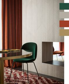 trending-fall-color-palettes-for-interiors-from-coco-kelley-_-forest-green-taupe-rust-andn-gold.jpg (600×730)