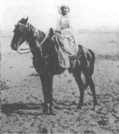 unusual photo of Br Charles. He was an excellent horseman from his days at military school.