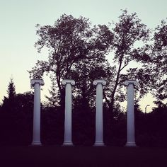 4 pillars from the original UW campus