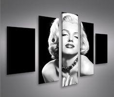 $44-$66 Audrey Hepburn Marilyn Monroe Bubblegum Print Home Decor ...