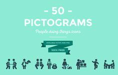 Pictograms are icons that depict anything under the sun in no context whatsoever - which makes it the perfect type of icon for any kind of use. The most common...