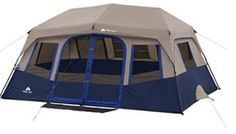 Ozark Trail 10 Person 2 Room Instant Cabin Tent - I really want this tent! Perfect size for our little family and easy set up! Best Tents For Camping, Tent Camping, Camping Ideas, Camping List, Camping Supplies, Outdoor Camping, Camping Room, Hiking Tent, Camping Guide