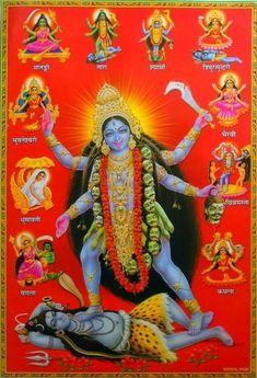 Maa Kali Images, Durga Images, Lord Krishna Images, Kali Hindu, Hindu Art, Hindu Deities, Hinduism, Mother Kali, Kali Mata