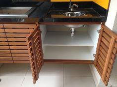Atelier do Zero French Kitchen Decor, Modern Kitchen Design, Home Decor Kitchen, Kitchen Furniture, Home Kitchens, Home Furniture, Furniture Design, Küchen Design, House Design
