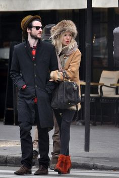 Cutest hipster couple ever.