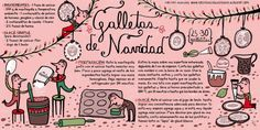 25 Days Of Christmas, Christmas Makes, Homemade Christmas, Family Christmas, Christmas Ideas For Boyfriend, Chilean Recipes, Chilean Food, Santa Cookies, Mini Foods