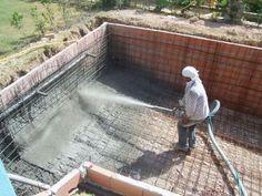 Como construir una piscina de hormigón