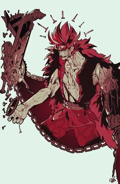 Eustass Kid One piece