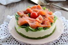 Cheesecake salata al salmone - anche Bimby