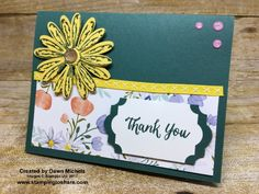 Stampin\' Up! Daisy Delight card created by Dawn Michels for #stampingtoshare demo meeting swap