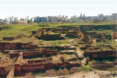 kurdistanart: Historical : Qalinj Agha Hill ~ Erbil south of Kurdistan