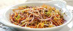 Oriente-se pela boa forma: salada Asian Slaw - Lucilia Diniz