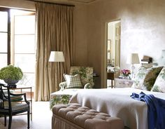 A Luscious Bedroom  - HouseBeautiful.com