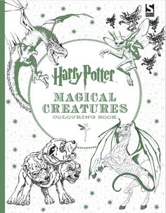 Harry Potter Magical Creatures Coloring Book By Scholastic House Elves And Merpeople Cornish Pixies Dragons The Wizarding World Is Populated An Un