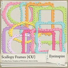 Scallopy frame