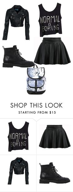 """""""Unormal  is the way to go"""" by yolandawooten ❤ liked on Polyvore featuring Giuseppe Zanotti and Disney"""
