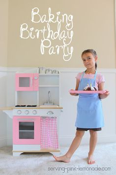 Baking Birthday Party Ideas, wish I could have done something like this when I was little