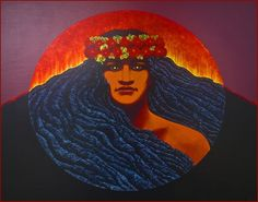Pele, the Volcano goddess, can be found in many Hawaiian legends