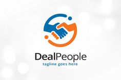 Deal People Logo Template Templates This logo is great for deal agent, trade, multimedia or any other business---Logo Details:- Full by gunaonedesign What Is Education, Education Logo, Special Education, Business Brochure, Business Card Logo, Monogram Logo, Help Logo, Unity Logo, Restaurant Logo