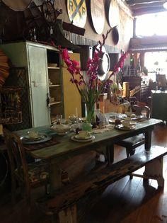 Hammer N Heels Antiques Weatherford, Tx Farm Table
