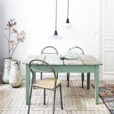 Table vert clair