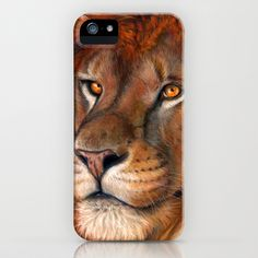 Lion P041 bis iPhone & iPod Case by S-Schukina - $35.00