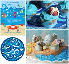 baby girl ocean themed baby shower | ocean birthday party ideas