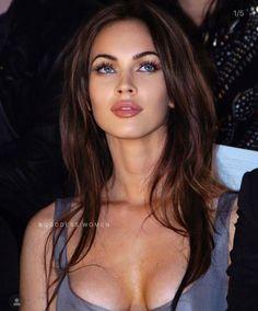 Megan Fox Body, Megan Fox Style, Megan Denise Fox, Megan Fox Lips, Megan Fox Makeup, Most Beautiful Faces, Beautiful Eyes, Estilo Megan Fox, Megan Fox Pictures