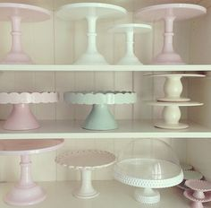 """Cake plate--simple (probably white)--not too humongous (enough to hold a bundt or 9"""" round cake)"""